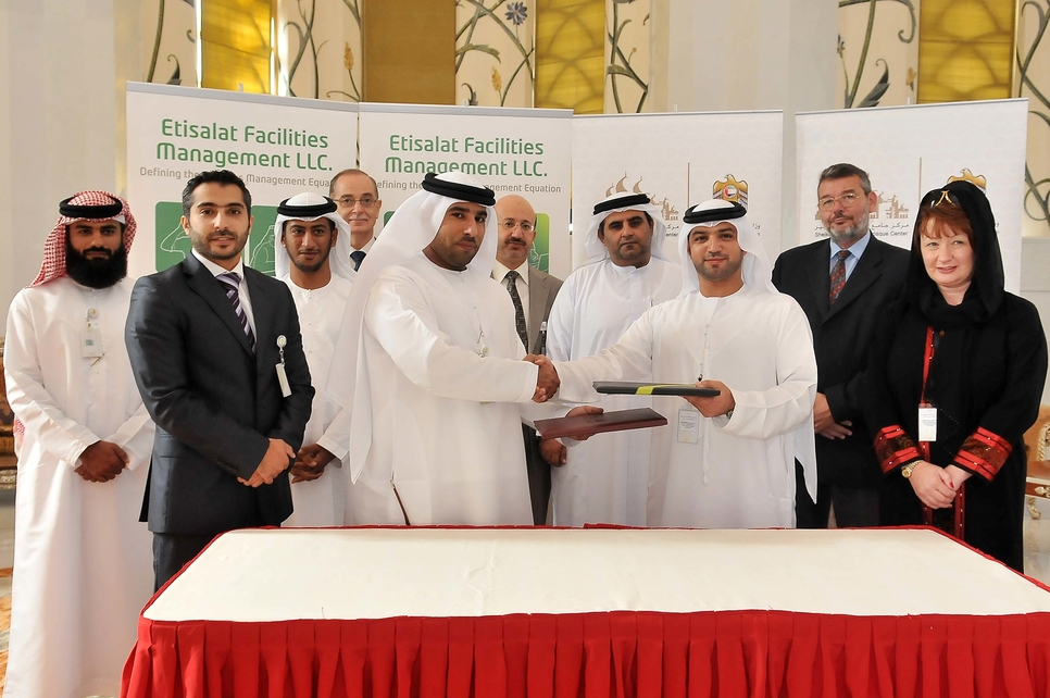 Etisalat Facilities Management provides an integrated FM solution covering operations and maintenance for hard and soft services, facilities managemen