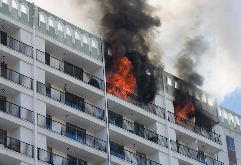 When it comes to fire-safe construction, a common building solution is compartmentalisation.