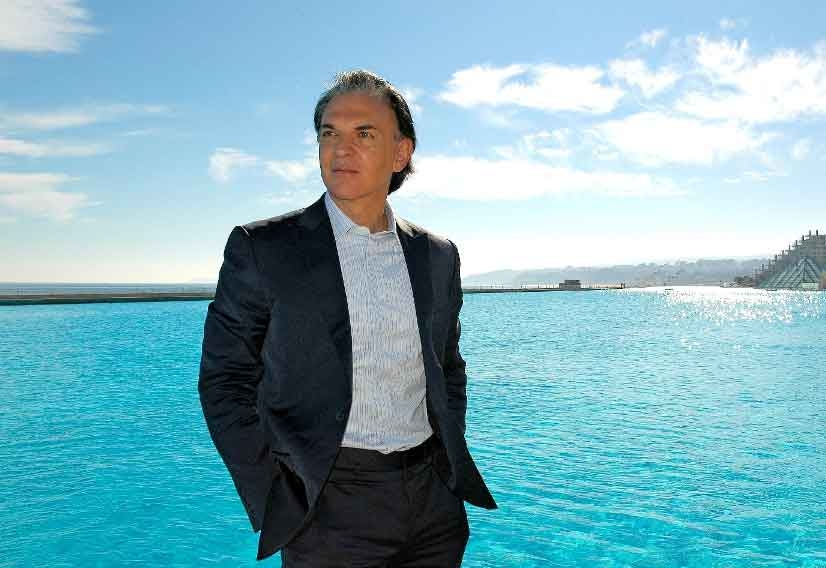 Crystal Lagoons owner and founder Fernando Fischmann says the lagoons allow a beach life environment and top level aquatic sports within a city.