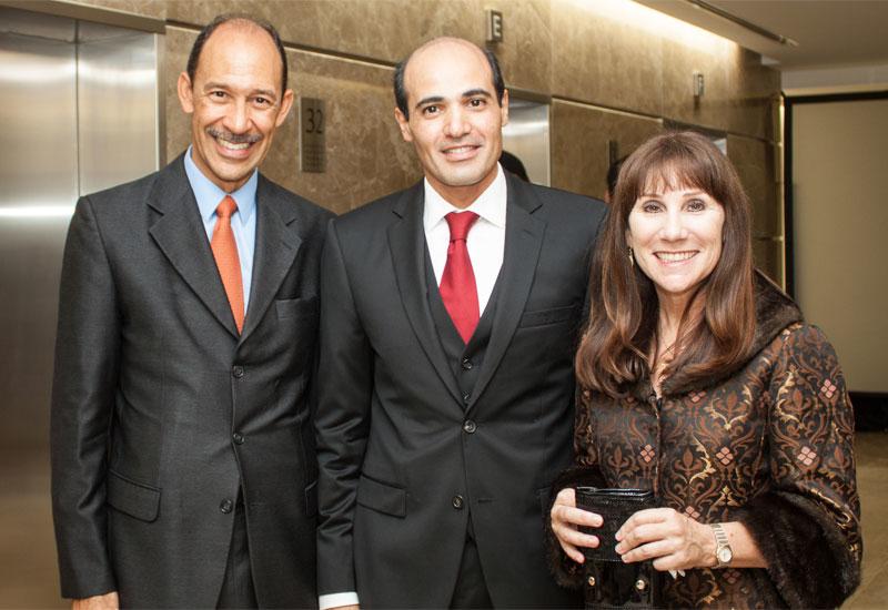 Michael Corbin, Tareq Abu-Sukheila and Jennifer Oswald.