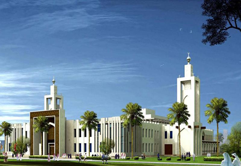 Barwa City Grand Mosque, Qatar, designed and under construction by Shapoorji Pallonji