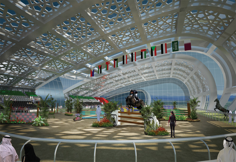 RW Armstrong is providing  full design, architectural, structural, civil and project management for the Abu Dhabi Equetsrian Club.