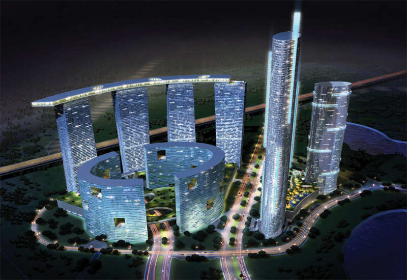 The Gate District: Shams Abu Dhabi was RW Armstrong?s first project in the emirate.