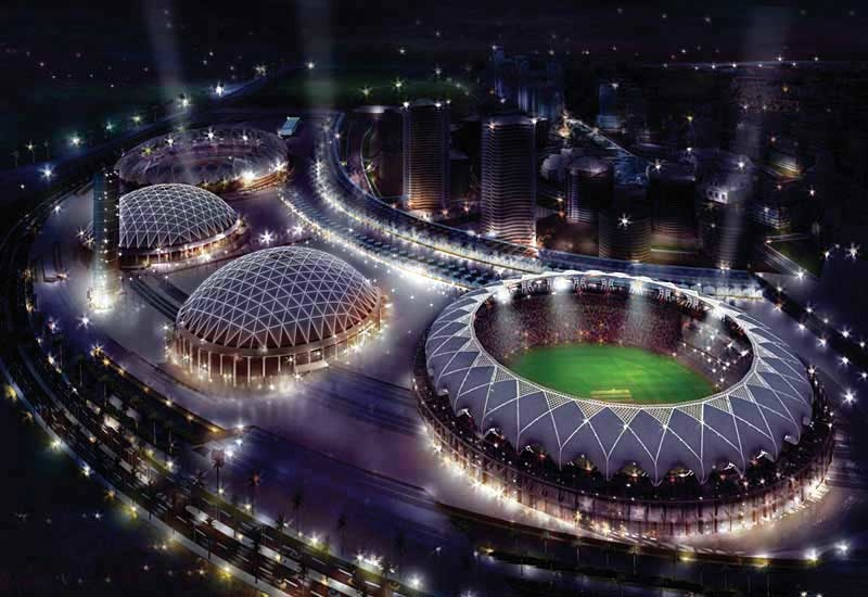 The $750m King Abdullah Sports City in Jeddah.