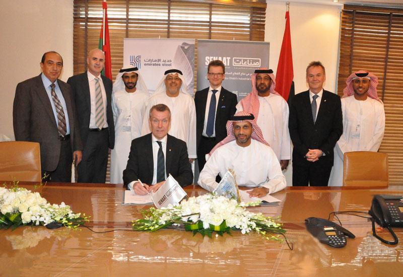 NEWS, Business, Emirates Steel, LKAB.