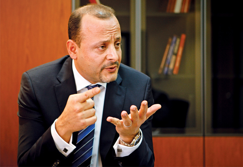 John Helou says Al Nasr's project backlog for 2013 stands AT $185m (AED680m),