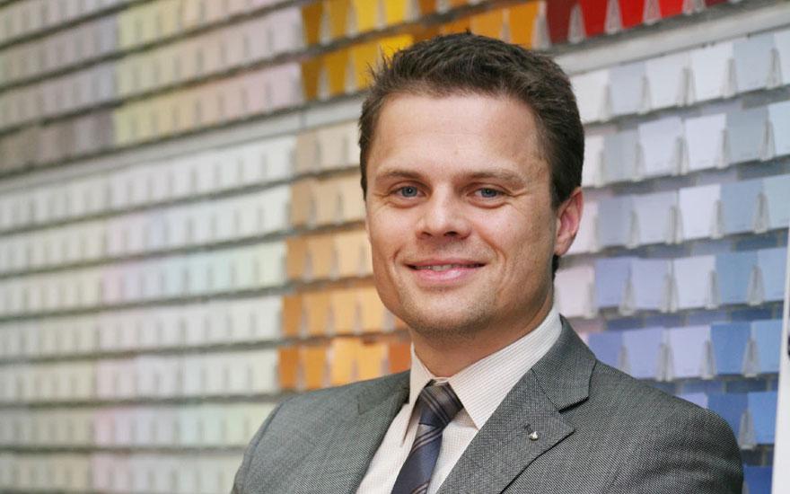 Jotun Paints regional marketing director Per Olav Ramstad.