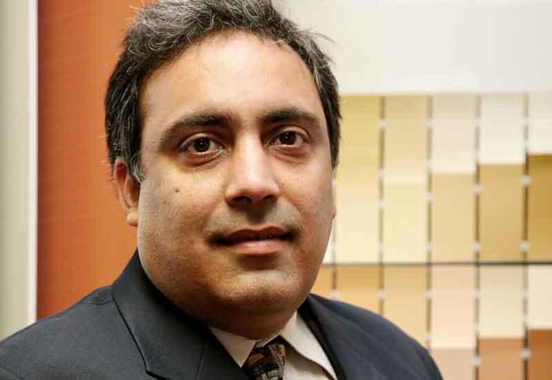 Jotun's marketing manager, Ashish Vasudev.