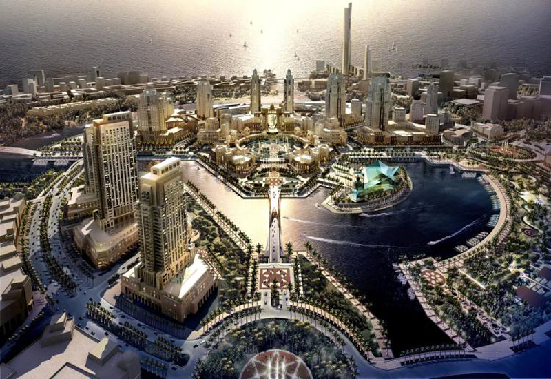 King Abdullah Economic City in Saudi, where the new clay-pipe facility will be built in Industrial Valley.