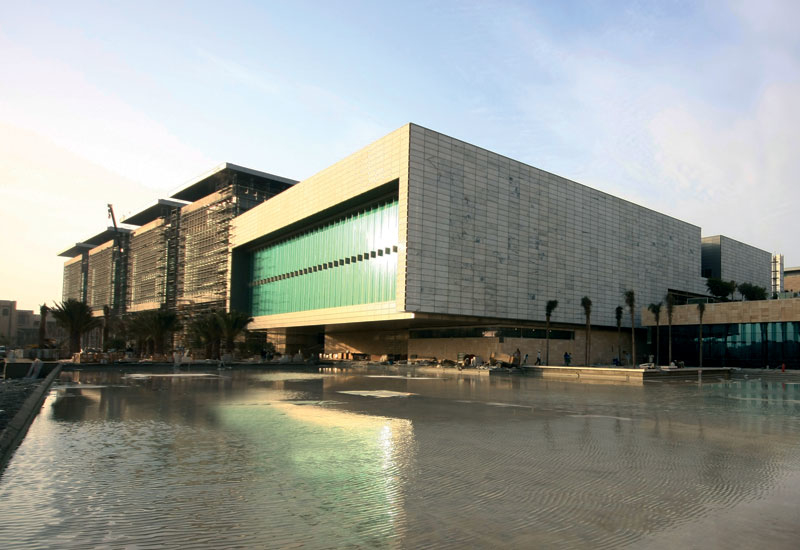 A view of the library at KAUST