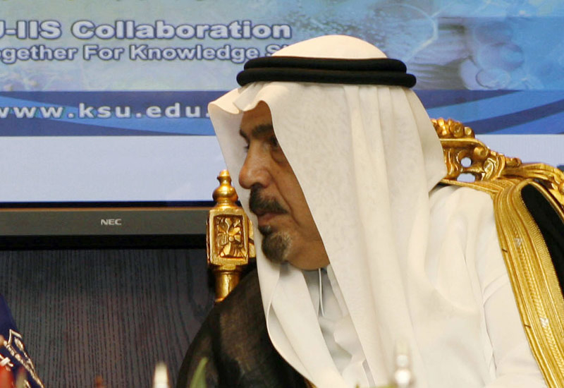 Khaled Al-Anqari, Saudi's Higher Education Minister.