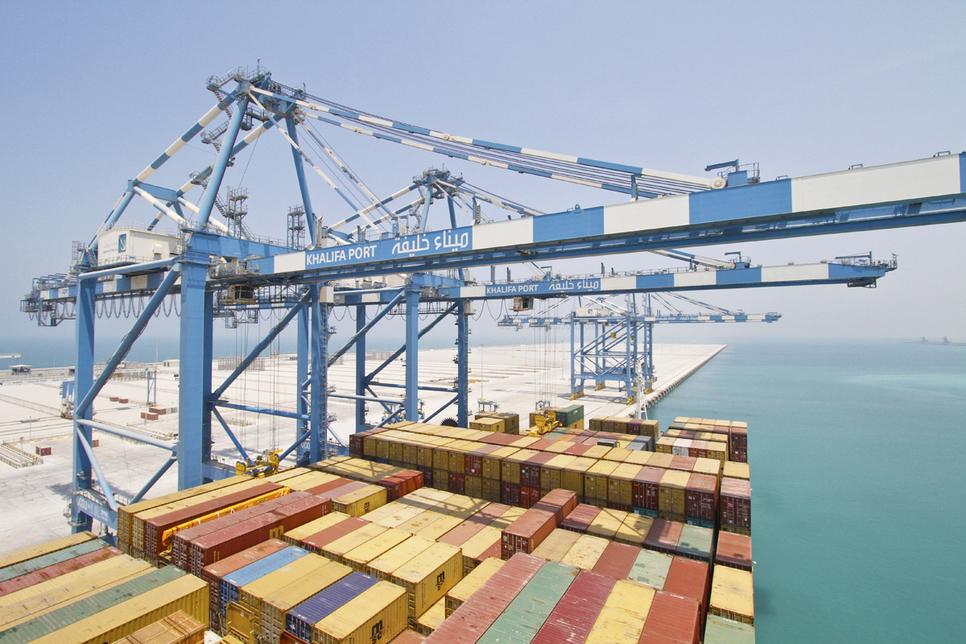 Khalifa Port is located in Abu Dhabi.