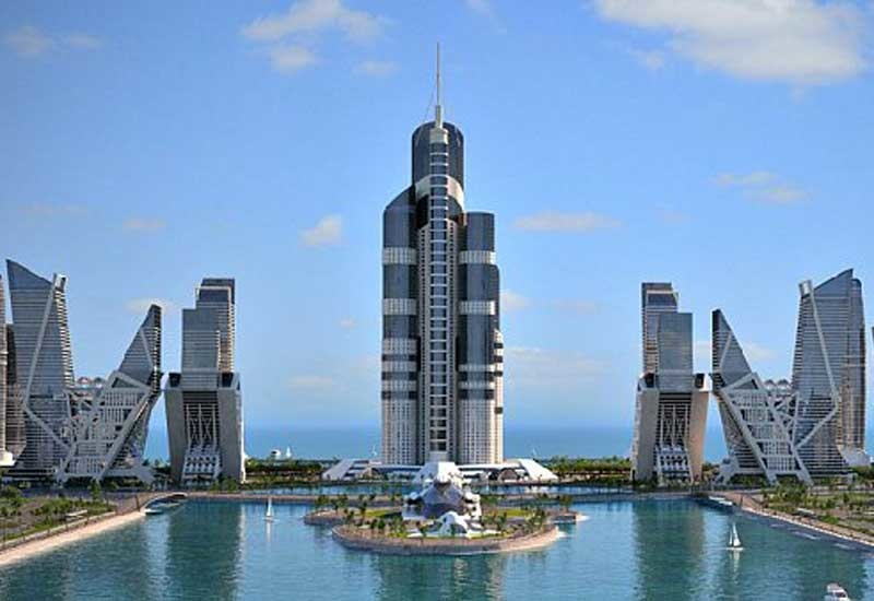 PICTURES: 1,050m tall tower planned for Azerbaijan
