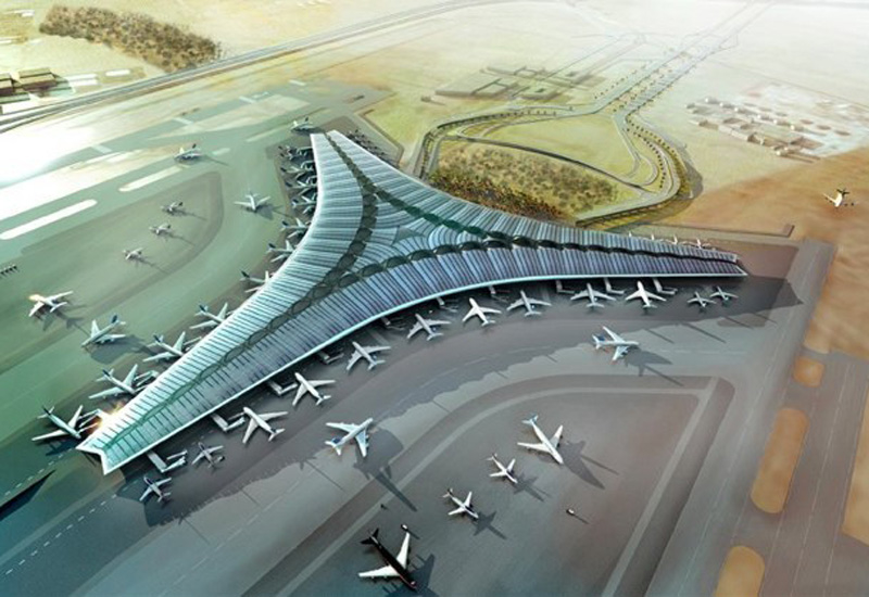 The building alone for the new 71 hectare second terminal will cost $3bn to implement.