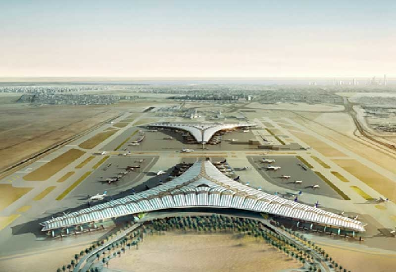 The new terminal will accommodate 13m passengers a year in the first phase.