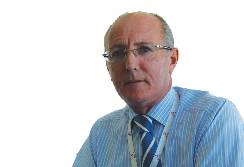 Construction-industry veteran Adrian Shaw relishes the challenges of his new Qatar Rail role.