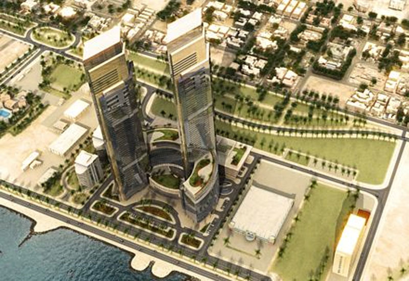 An impression of Lamar Towers in Jeddah.