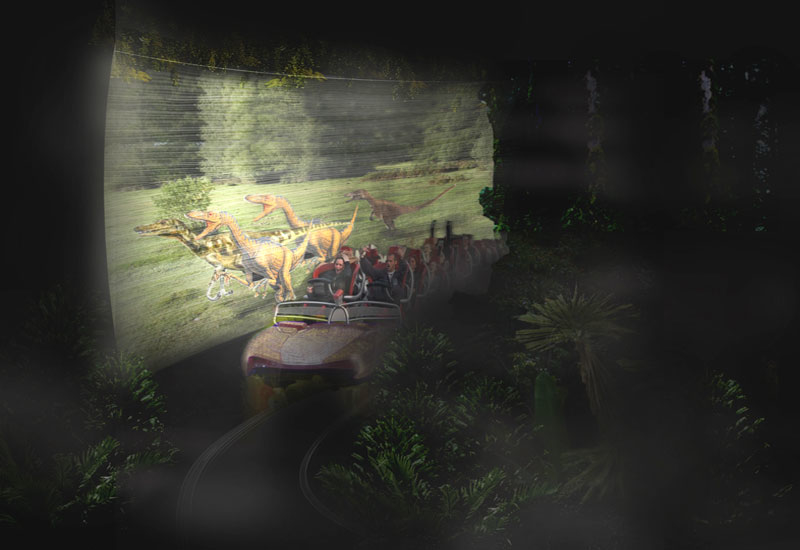 Velociraptor Launch Coaster planned for IMG's The Lost Valley zone at City of Arabia theme park