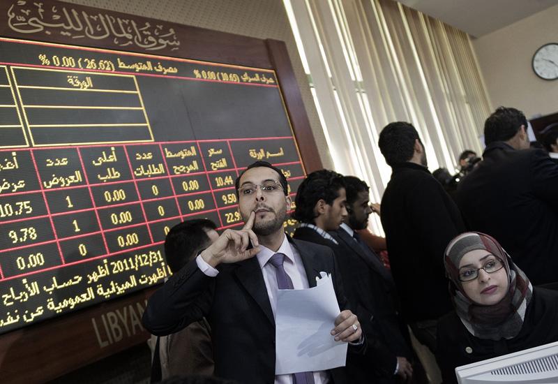 NEWS, Business, Reopened Libyan bourse nods towards reconstruction