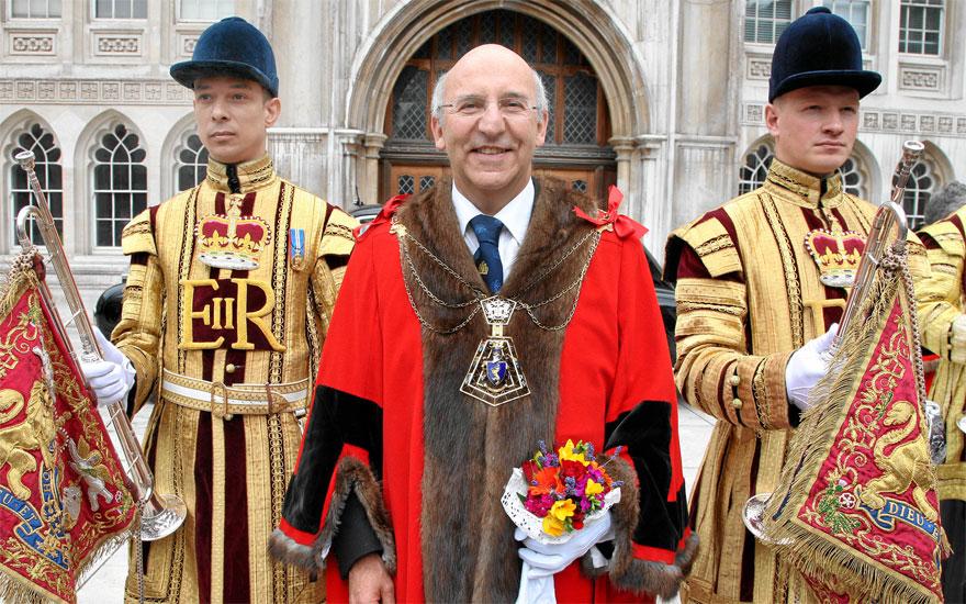 Lord Mayor of London Michael Bear.