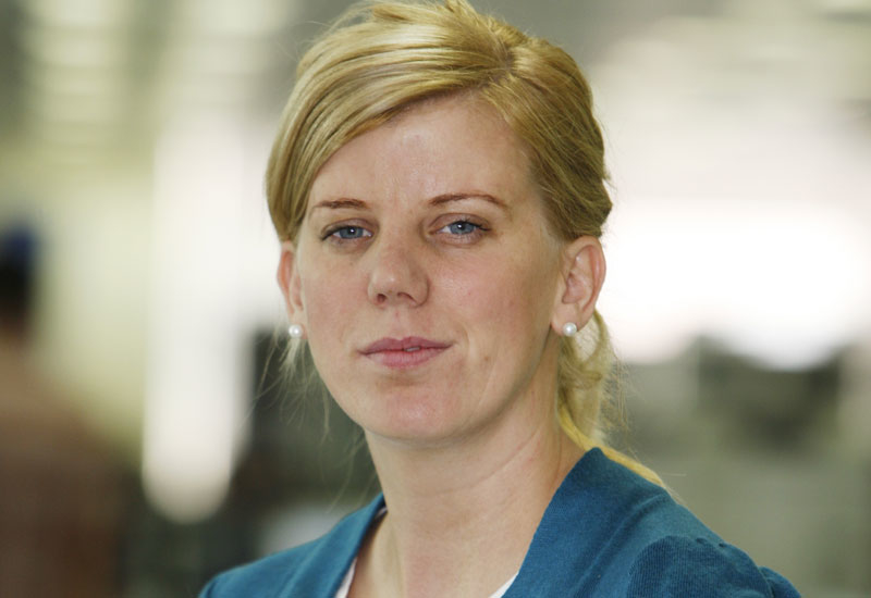 Ramboll Middle East associate director: building services Louise Collins.