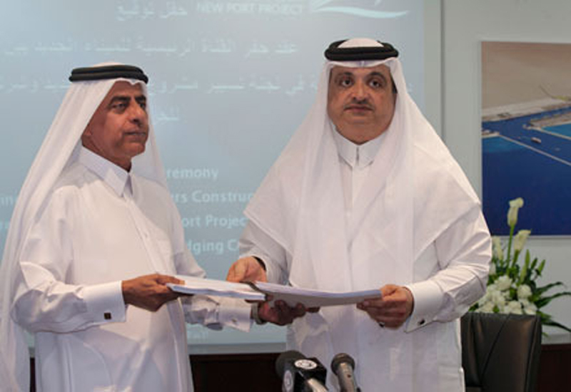 Abdul Aziz Mohammed Al Noaimi, chairman, New Doha Port Steering Committee. Abdulrahman Abdullah Abdulghani, chairman, MEDCO