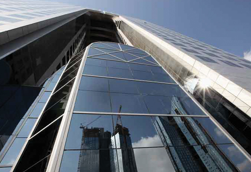 Before the financial crisis, there were many more commercial high rises and real estate towers being constructed in Dubai.