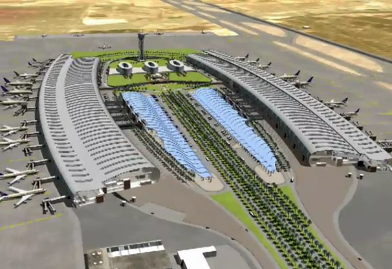 The $1.5bn phase one expansion of the airport involves construction of a new terminal building, extension of the runway, apron and taxi-way systems.
