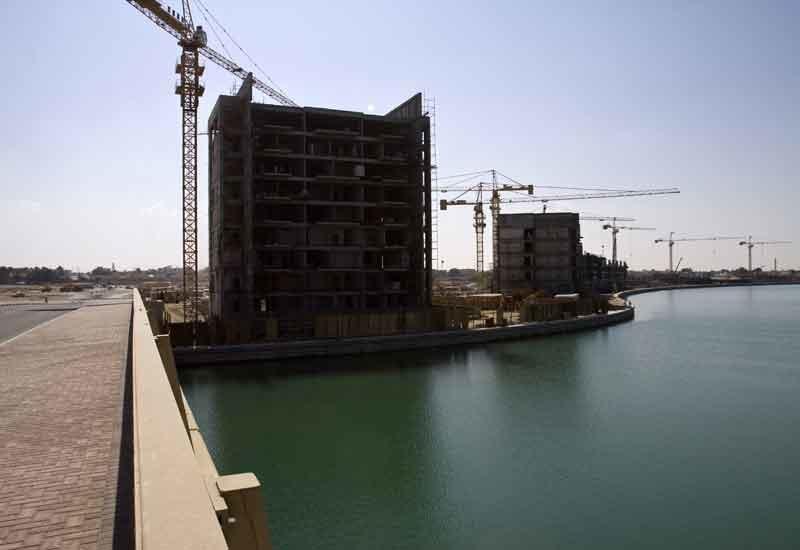 The Mina Al Arab residential development.