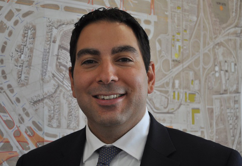 Khaled Naja had managerial oversight of a $6.6bn programme of works at O'Hare International Airport, Chicago.