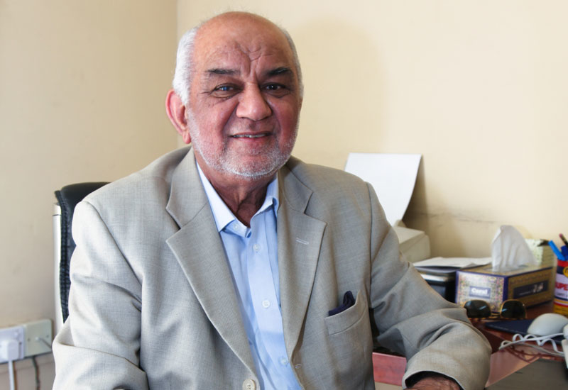 Napco chairman Dr Mumraiz K. Awan.