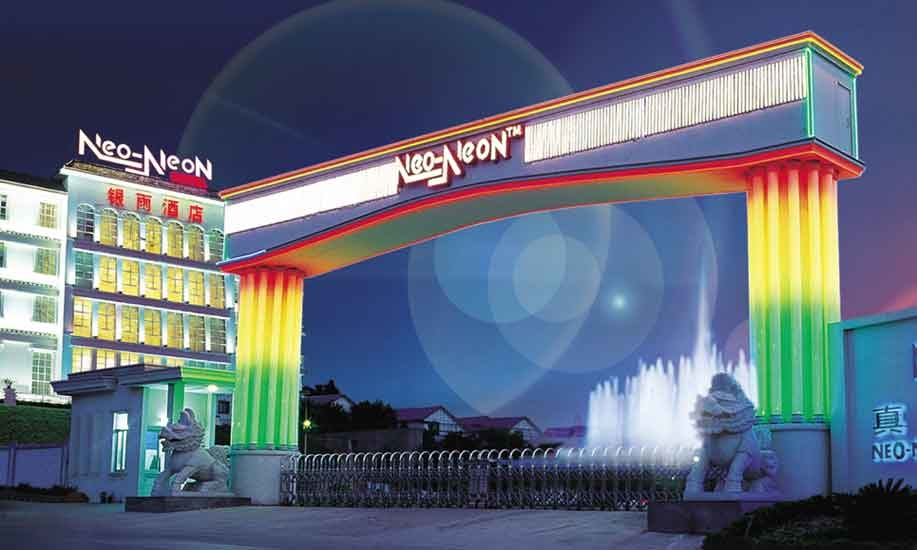 Neo-Neon LED Lighting International is listed on the Hong Kong and Taiwan Stock Exchanges.