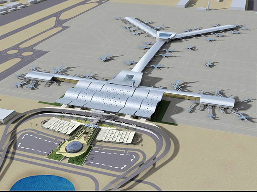Full operations are expected to begin at Hamad International Airport in the second half of 2013