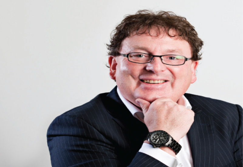 Paul Kirby, Commtech's country manager for the Middle East and India