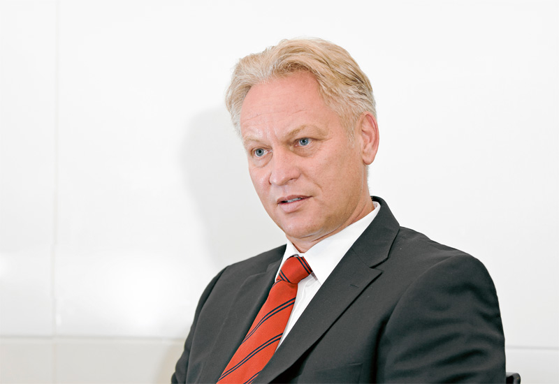 CEO for 18 months, Peter Brechtelsbauer.