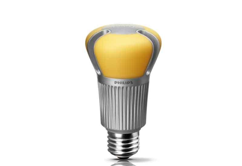 The Philips EnduraLED 12 watt lamp.