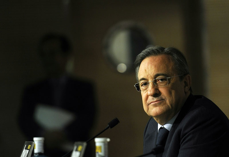 Real Madrid president Florentino Perez is also head of Spanish construction giant ACS.