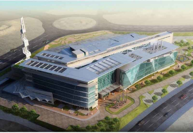 An artist's impression of the upcoming SABIC research centre.