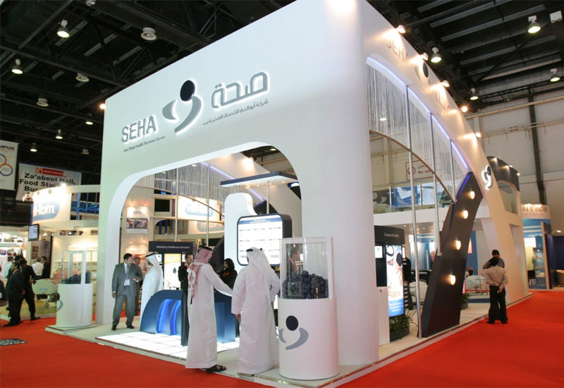 The SEHA stand at Arab Health 2010.