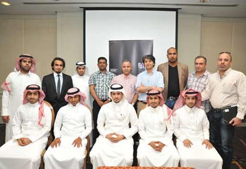 LEED workshop attendees at Four Seasons Hotel, Riyadh, Saudi Arabia along with Cemil Yaman, USGBC LEED faculty.