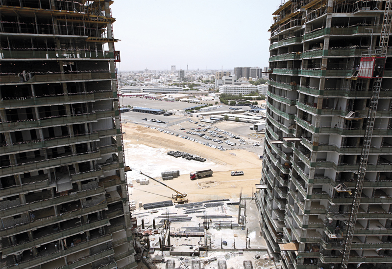The Saudi construction sector is booming.