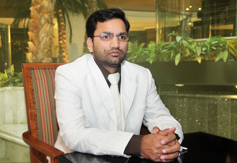 Shaikhani Contracting MD Rizwan Shaikhani.