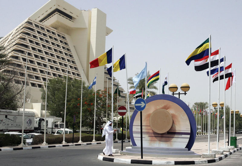 The 31-year-old Sheraton Hotel in Doha is to undergo a major renovation.