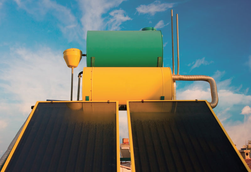 Solar energy is one of the elements of green buildings.