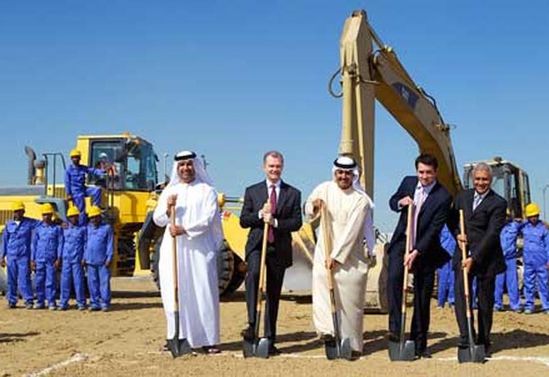 (L-R) Dr. Tariq Al Tayer, Larry Prein, Matar Al Tayer, Robin Colgan, and Ashok Khanna