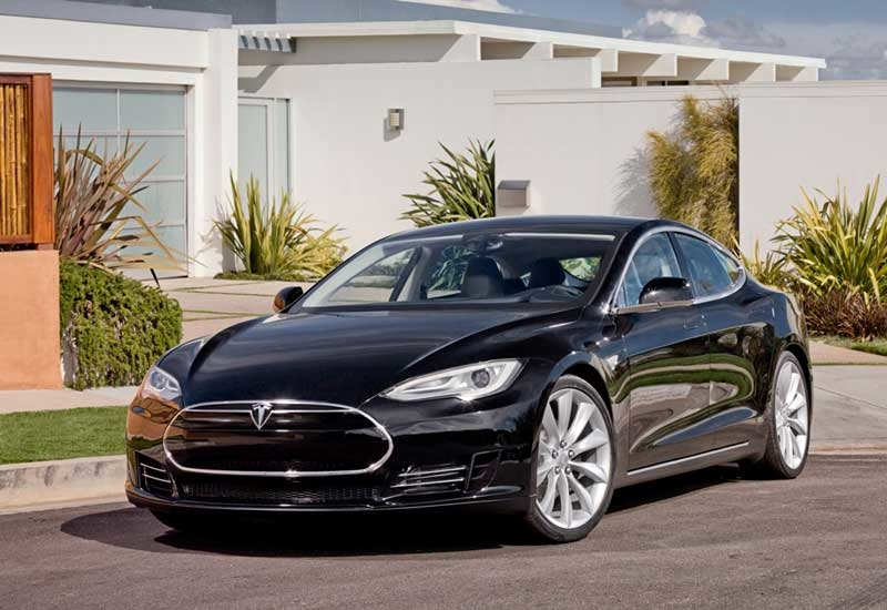 The Tesla S: due to be launched mid-2012.
