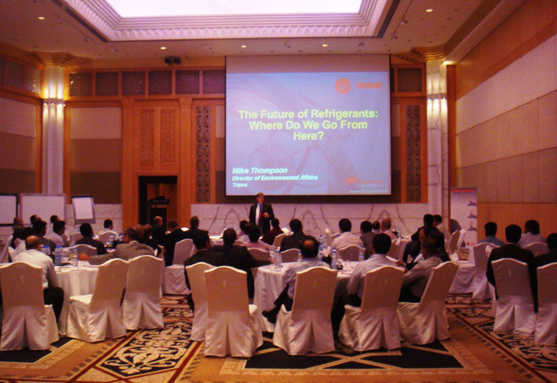Trane US experts addressed a Dubai audience at the Grand Hyatt