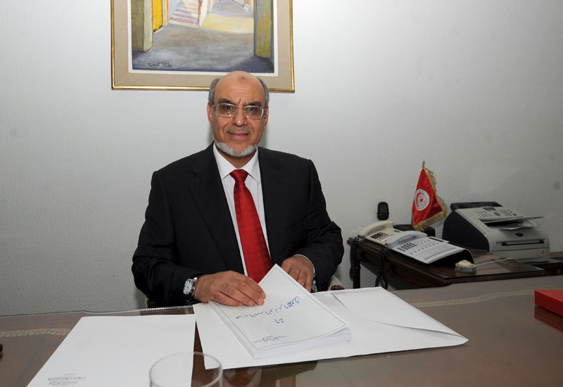 One of new Tunisian Prime Minister Hamadi Jebali's first acts in charge has been to approve funds for work around the TFH project