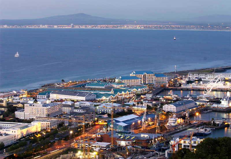 The V&A Waterfront in Cape Town, South Africa.