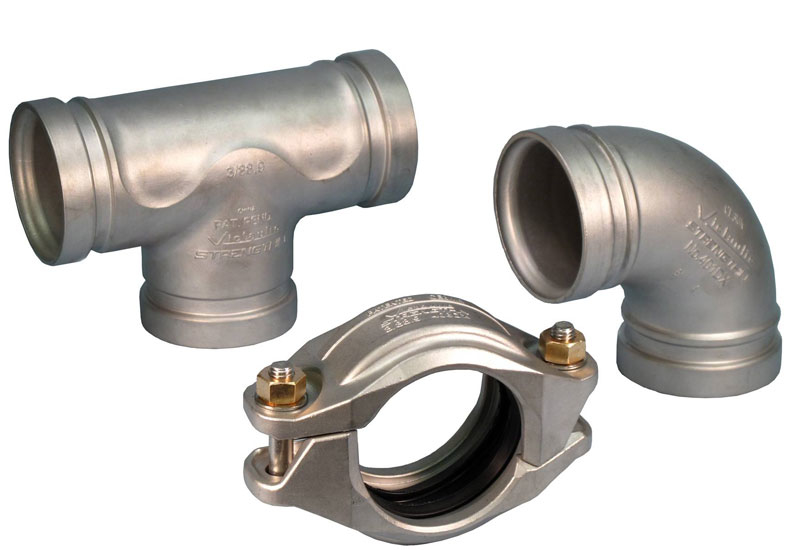 Victaulic has launched its range of StrengThin piping systems (Supplied Image)